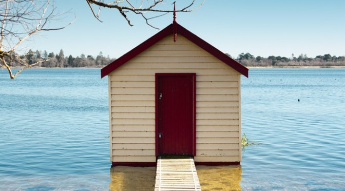 Lake Wendouree (Victoria, Ballarat, Australia)